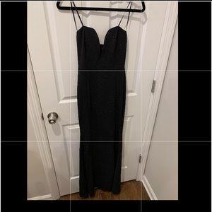Black Glitterbomb dress (Brand New)